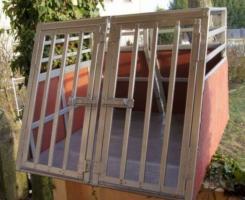 Foto 2 Alu -Hundebox für 1-2 Hunde, Doppelbox ohne Trennwand