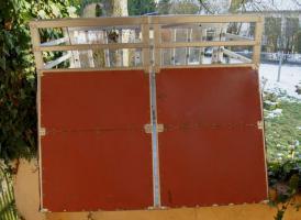 Foto 4 Alu -Hundebox für 1-2 Hunde, Doppelbox ohne Trennwand