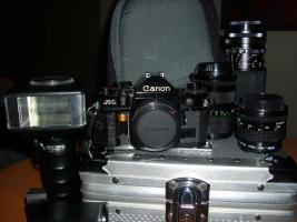 Analog CANON-Foto-Komplettausrüstung