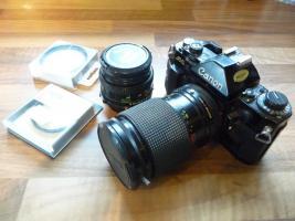 Analog canon A1 Spiegelreflexkamera