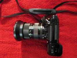 Analoge Canon AE-1 Fotokamera in Frankfurt zu verkaufen