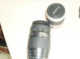 Foto 2 Analoge Spiegelreflex Kamera Canon EOS 300 komplett set