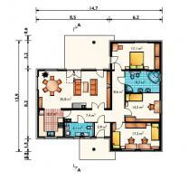 Foto 2 Angebot Selbstbausatz Coolliving Bungalow Fertigteilhaus € 50.000, -