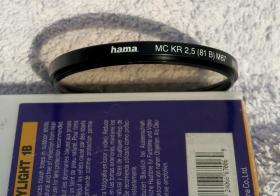 Angebot: Universalfilter Hama KR 2,5 MC