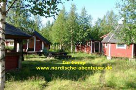 Foto 3 Angel-Camp Drei Flüsse in der Wildnis Schwedisch-Lapplands
