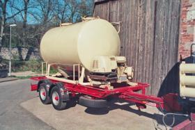 Anhänger Siloanhänger 6 m3 für Mehl, Kraftfutter, Pellets o. ä.
