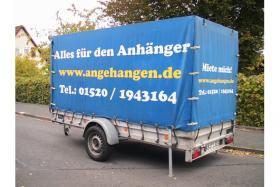 Anhänger, Mietanhänger ,30,00 Euro, 1,3 t, 340x152x181 Ladefläche