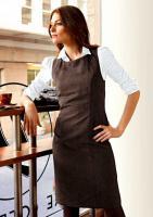 Aniston - Velours-Etuikleid braun Gr. 38 - OVP - NEU