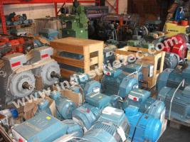 Ankauf von Elektromotoren Ankauf von demag Laufkatze Kran Hubwerk