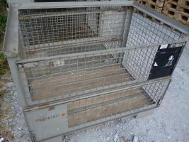 Foto 2 Ankauf von gebrauchten DB-Gitterboxen (Metallboxen s. Foto) - Zahle sofort !