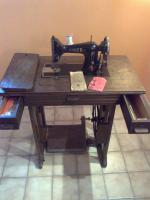 Anker Nähmaschine, ca. 70 Jahre alt, voll funktionsfähig, Originalpapiere