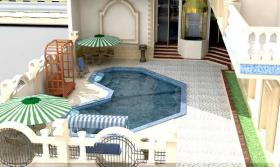 Foto 4 Anlage mit Pool, Meerblick 2 Min zur Promenade Hurghada Ägypten