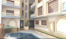 Foto 6 Anlage mit Pool, Meerblick 2 Min zur Promenade Hurghada Ägypten
