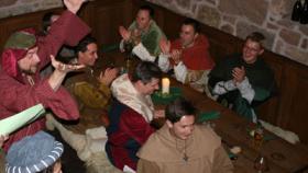 Anno Domini Zeitreise ins Mittelalter bzw. Erlebnis Rittermahl mit Übernachtung