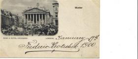 Ansichtskarte/Postkarte London von 1900