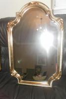 Antik Spiegel vergoldet aus dem 19. jhdt.