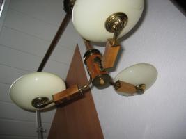 Foto 3 Antike 3 Stabschalenlampe