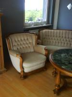Foto 2 Antike Couch Garnitur mit passenden Tisch