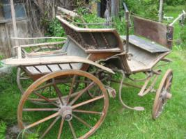 Foto 2 Antike Kutsche