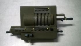 Antike Rechenmaschine Odhner