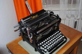 Foto 4 Antike Schreibmaschine - Naumann Ideal (ca. 1930)