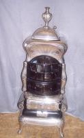 Antiker American Heating ''Unio 16'' Leuchtofen um 1920