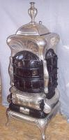 Foto 2 Antiker American Heating ''Unio 16'' Leuchtofen um 1920