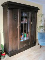 antiker schrank jugendstil eiche dunkel in vienenburg von privat. Black Bedroom Furniture Sets. Home Design Ideas