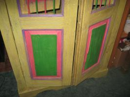 Foto 3 Antiker Tropenholz Wäscheschrank