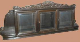 Antikes Büfett-Oberteil