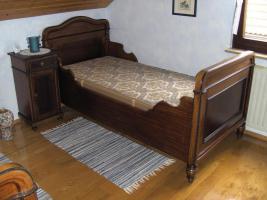 Antikes Schlafzimmer ( Gründerzeit / Jugendstil )