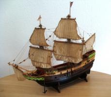 Antikes Segelschiffsmodell MAYFLOWER