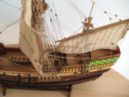 Foto 2 Antikes Segelschiffsmodell MAYFLOWER