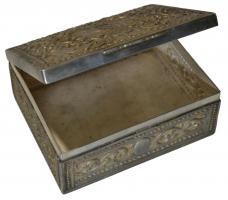 Foto 4 Antikes Silberdosen Set dreiteilig