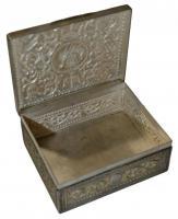 Foto 5 Antikes Silberdosen Set dreiteilig