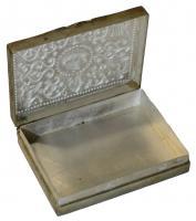 Foto 11 Antikes Silberdosen Set dreiteilig