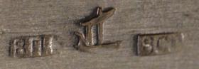 Foto 12 Antikes Silberdosen Set dreiteilig