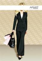 Anzug schwarz von APART Gr. 40 - Neu & OVP