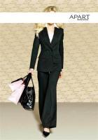 Anzug schwarz von APART - Größe 36 - NEU