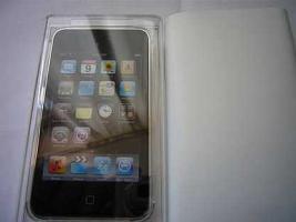 Foto 3 Apple IPod Touch 8GB 3.Gen OVP Neu MP3 schwarz-silber