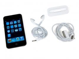 Foto 5 Apple IPod Touch 8GB 3.Gen OVP Neu MP3 schwarz-silber