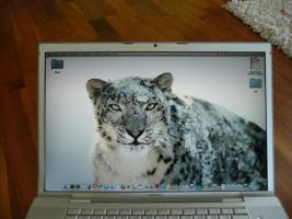 Foto 3 Apple MacBook Pro 17'' - Snow Leopard - 2,16GHz Intel Core Duo