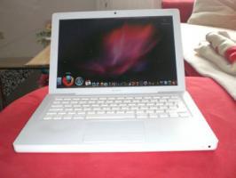 Apple MacBook, white, 13'' Display, teildefekt, zu verkaufen