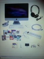 Apple iMac 21,5 ''Desktop - ME086LL / A NEUESTE MODELL MIT ZUBEHÖR Hülle und Fülle!