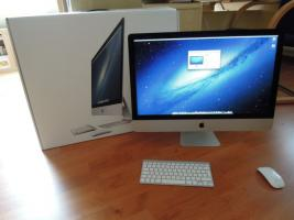 Apple iMac 27 / Core i7 3,4 GHz / 8 GB RAM / 3TB ATA Drive / GTX 675MX 1GB