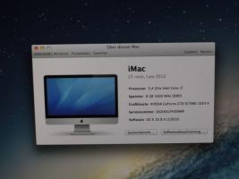 Foto 2 Apple iMac 27 / Core i7 3,4 GHz / 8 GB RAM / 3TB ATA Drive / GTX 675MX 1GB