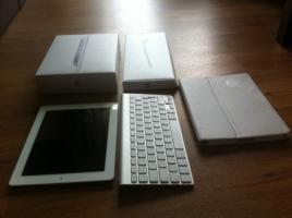 Apple iPad2 32Gb Weiß Mit Tastatur. 360VHB