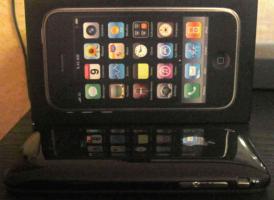 Foto 3 Apple iPhone 3 GS 3GS 32 GB Schwarz (Ohne Simlock) top neuwertig OVP Smartphone 4 U wie neu