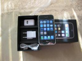 Apple iPhone 3G 16 GB -in Schwarz Simlock frei