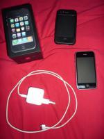 Apple iPhone 3GS 8GB schwarz, gebraucht aber in sehr gutem Zustand!ohne Simlock